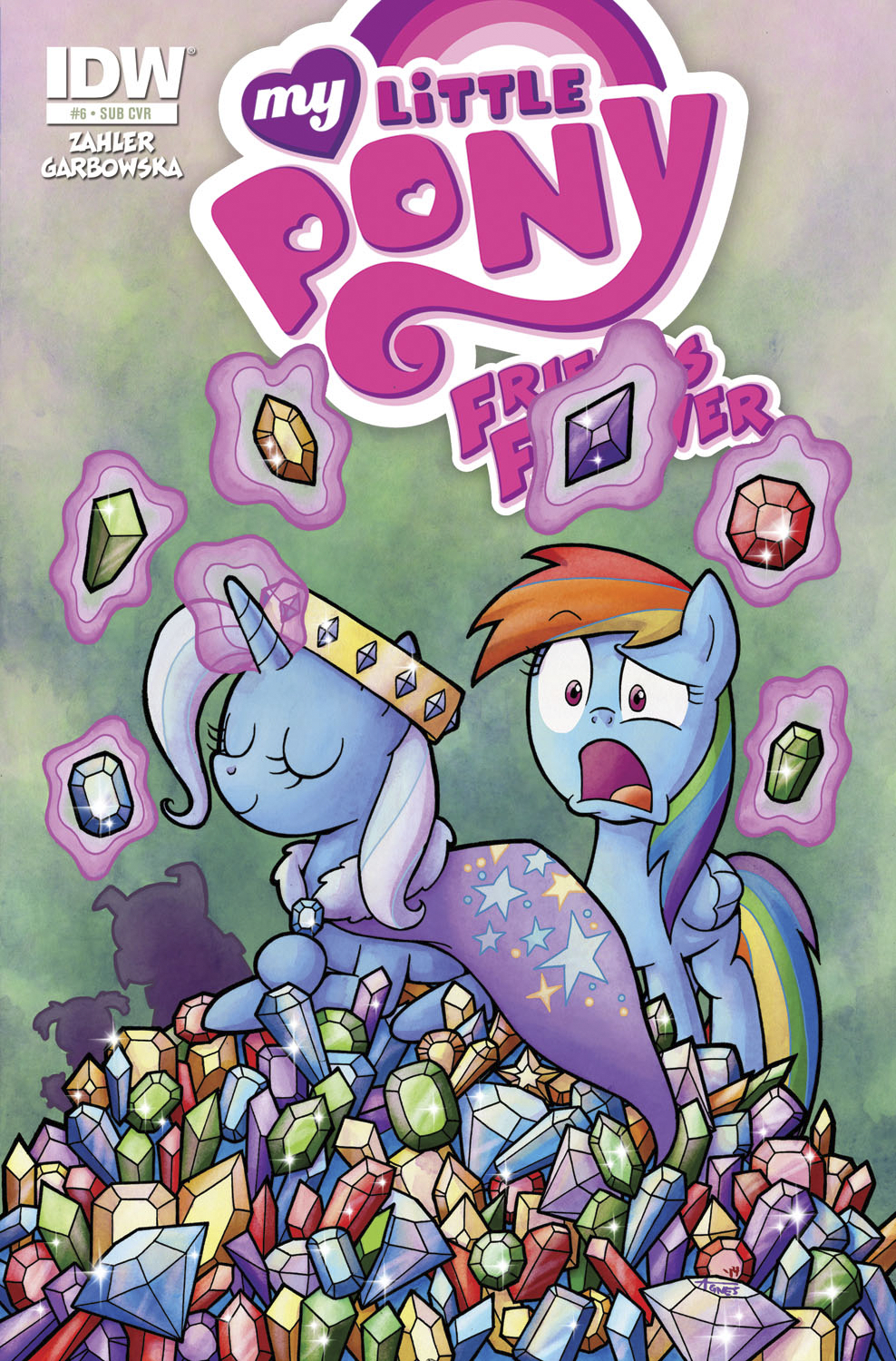 MY LITTLE PONY FRIENDS FOREVER #6 SUBSCRIPTION VAR