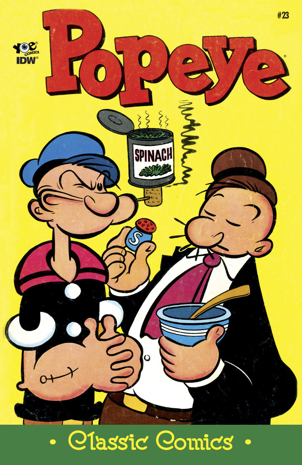 POPEYE CLASSICS ONGOING #23