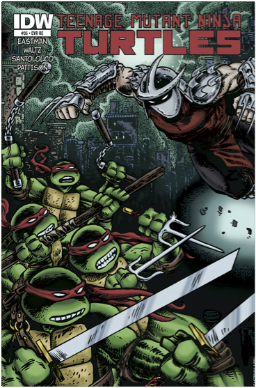 TMNT ONGOING #35 FREE 10 COPY INCV