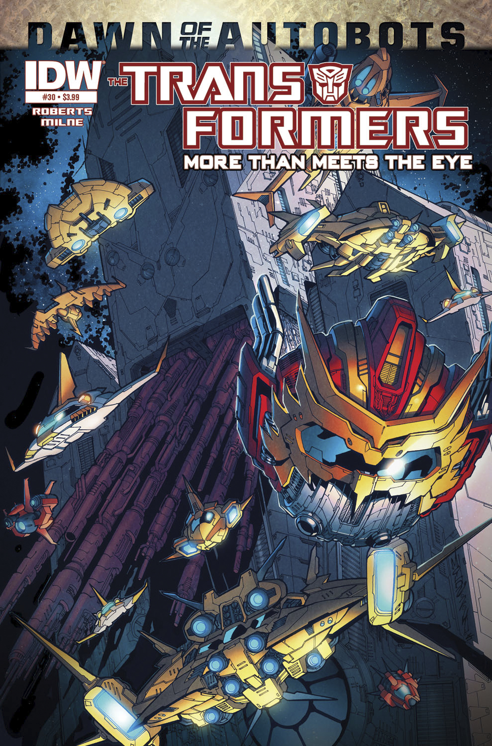 TRANSFORMERS MORE THAN MEETS EYE #30 DAWN O/T AUTOBOTS