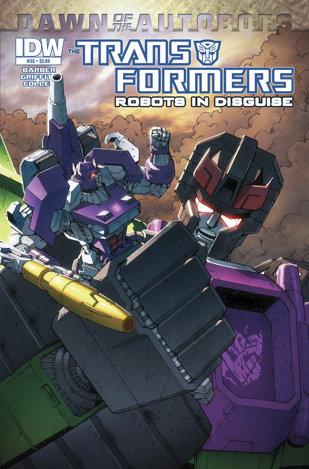 TRANSFORMERS ROBOTS IN DISGUISE #30 DAWN O/T AUTOBOTS