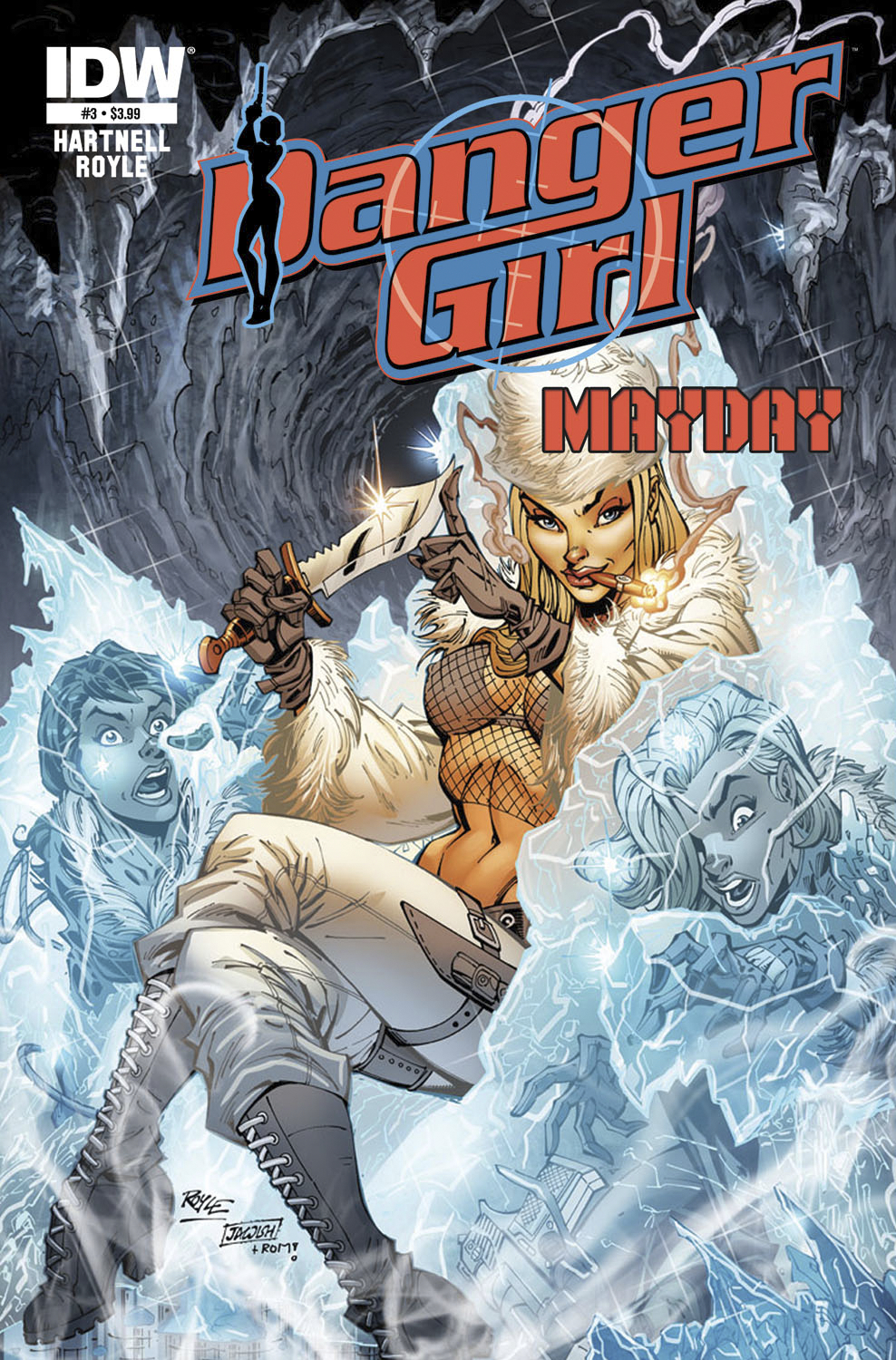 DANGER GIRL MAYDAY #3