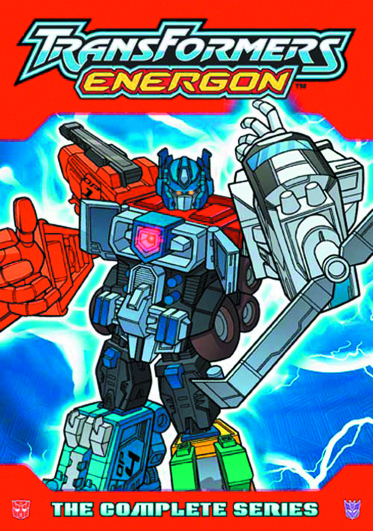 TRANSFORMERS ENERGON COMP SER DVD