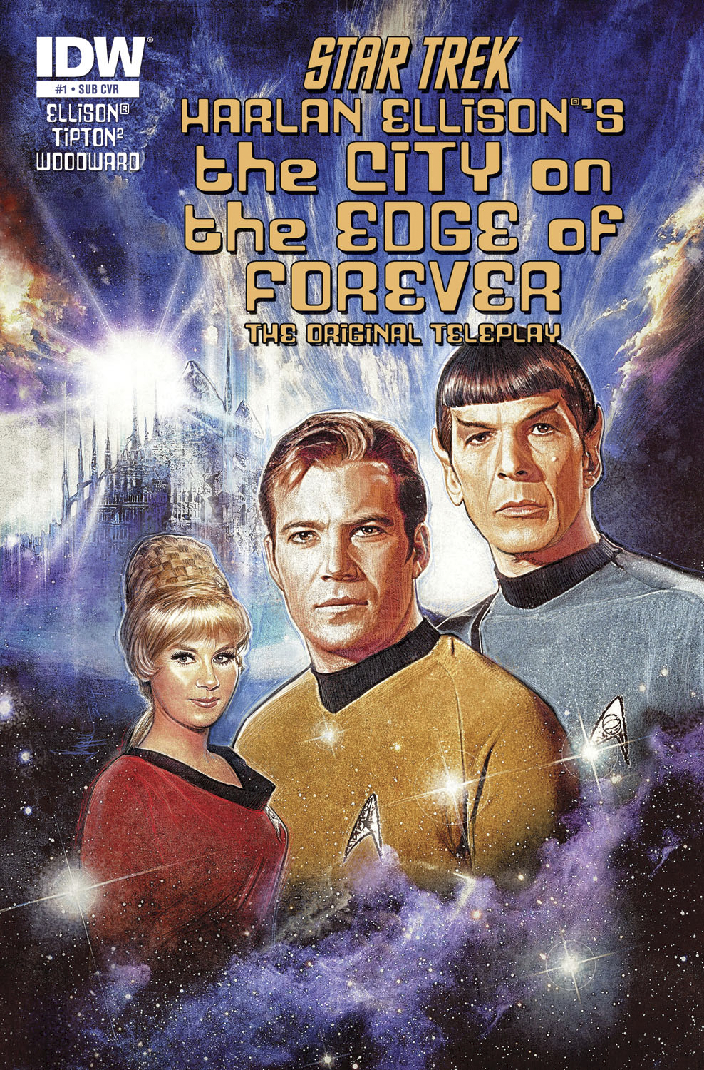 STAR TREK CITY O/T EDGE OF FOREVER #1