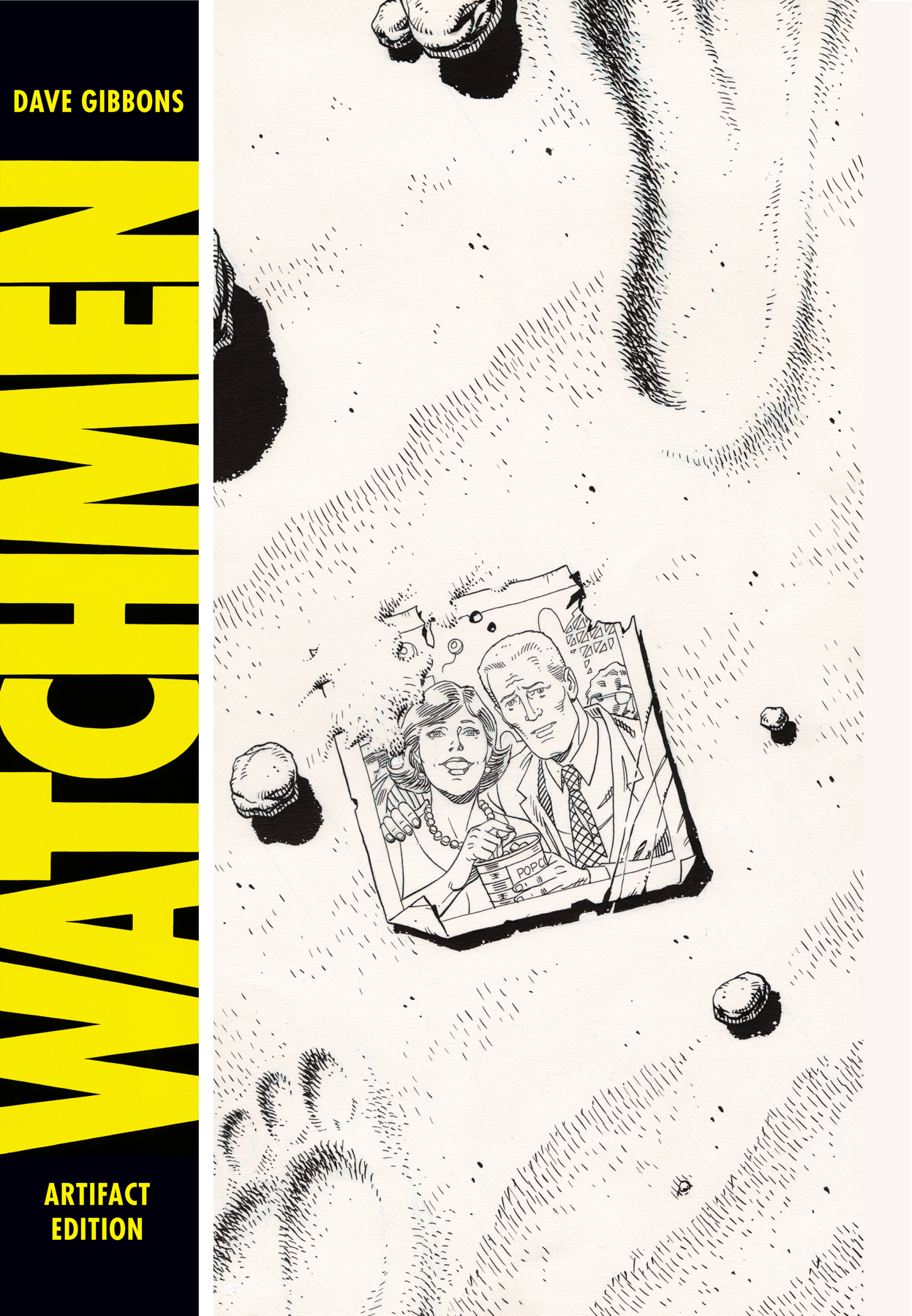 DAVE GIBBONS WATCHMEN ARTIFACT ED HC