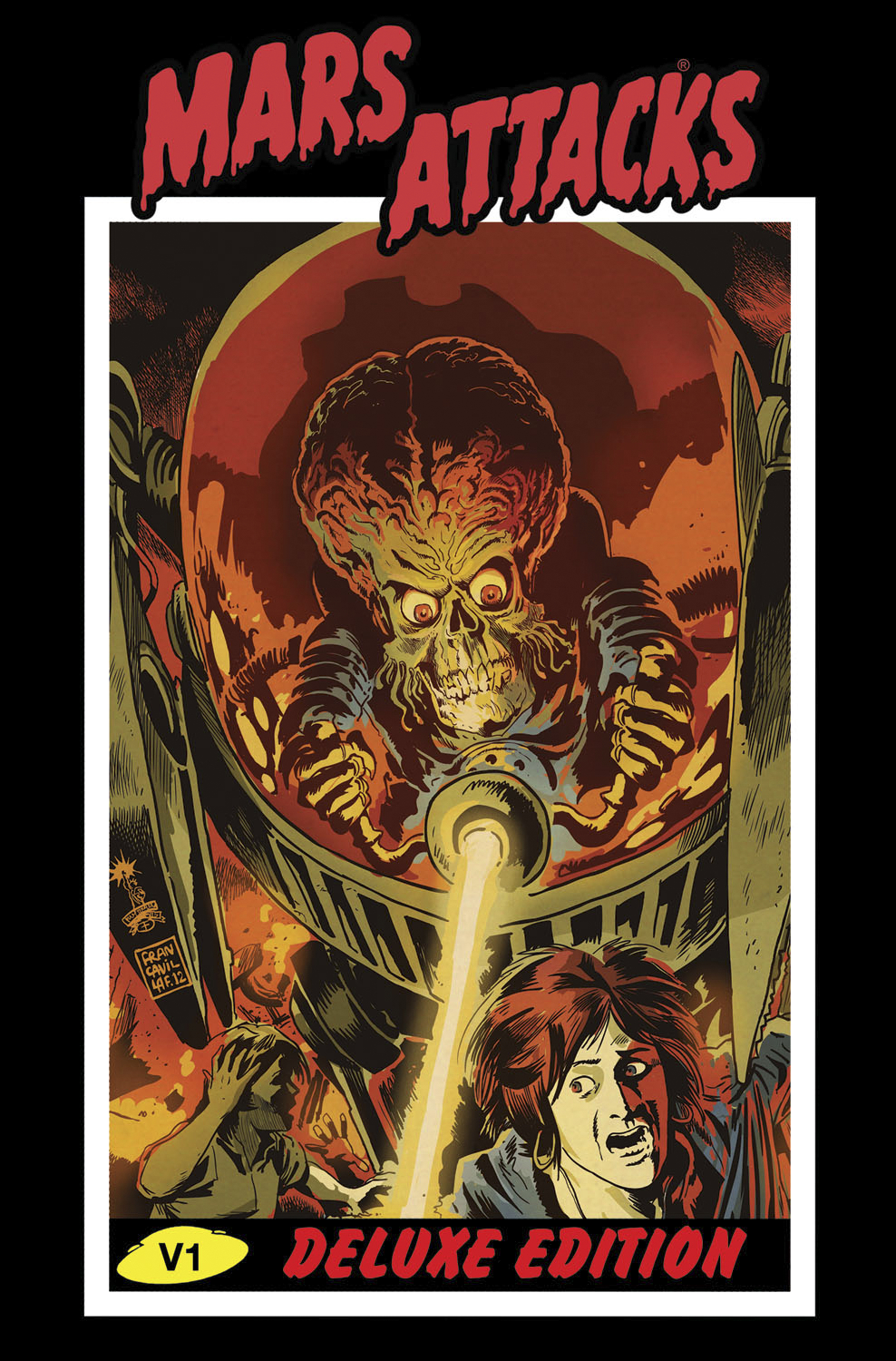 MARS ATTACKS DLX ED HC