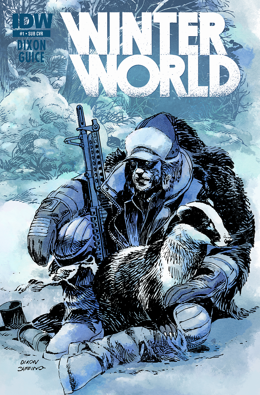 WINTERWORLD #1 SUBSCRIPTION VAR