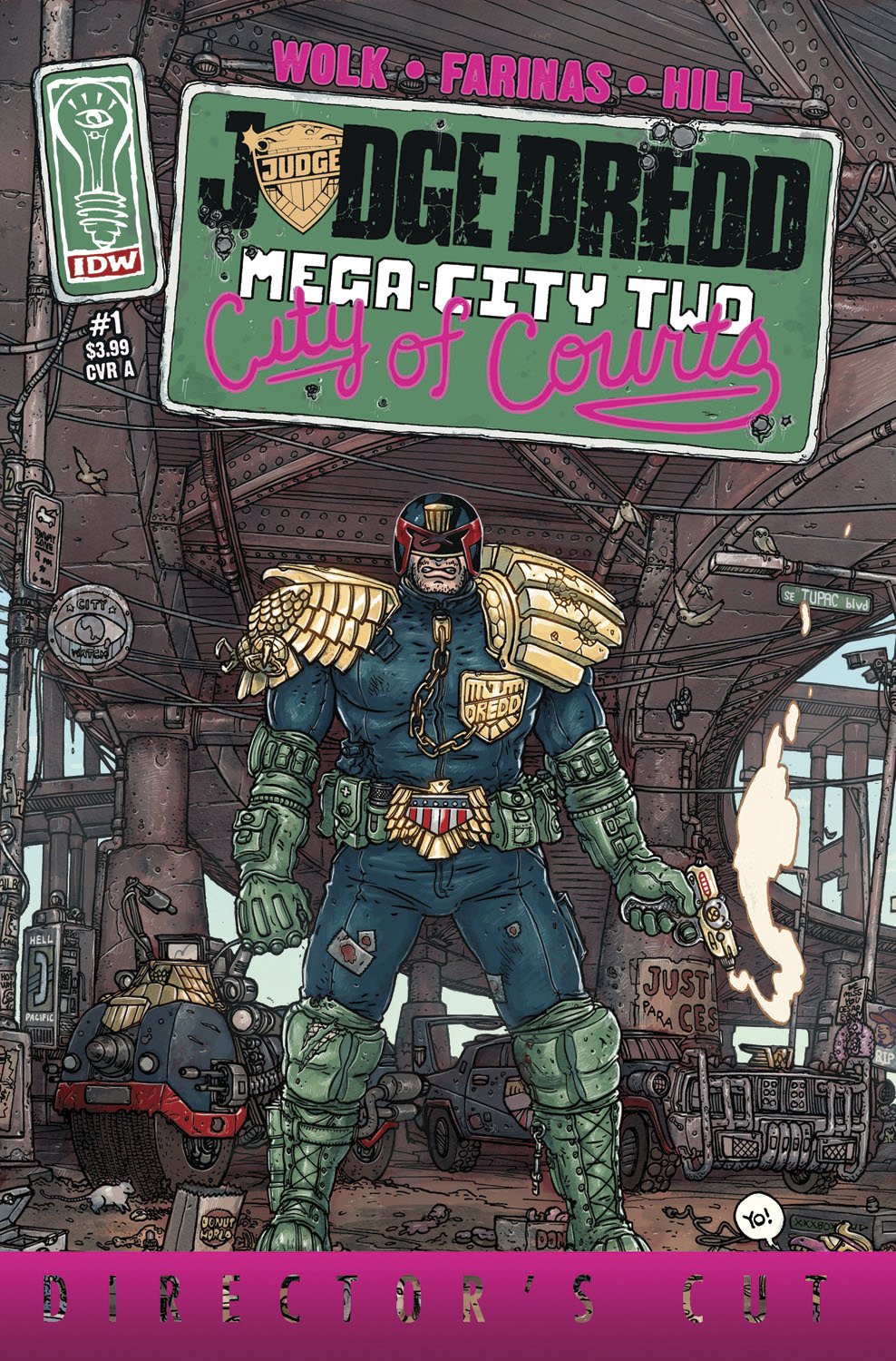 JUDGE DREDD MEGA CITY TWO DIRECTORS CUT #1