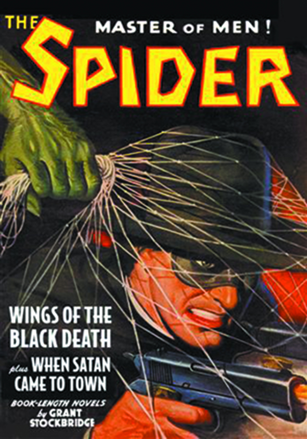 SPIDER DOUBLE NOVEL #4 WINGS OF BLACK DEATH