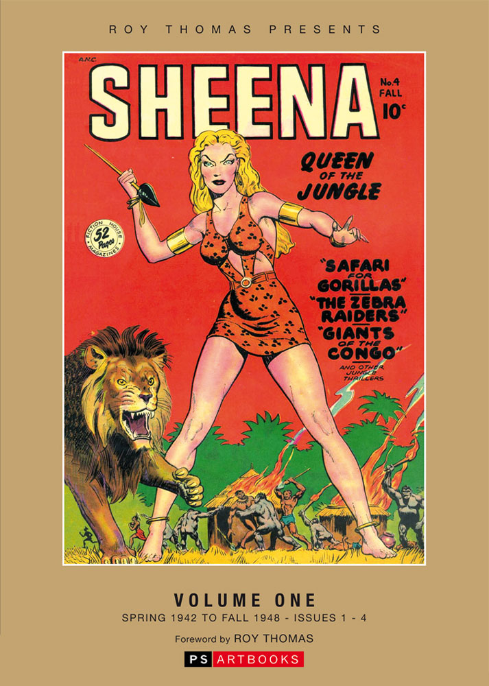 ROY THOMAS PRESENTS SHEENA QUEEN JUNGLE BOOKSHOP ED VOL 01