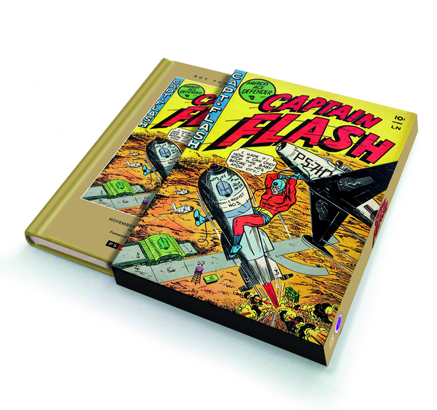 ROY THOMAS PRESENTS CAPTAIN FLASH SLIPCASE ED VOL 01