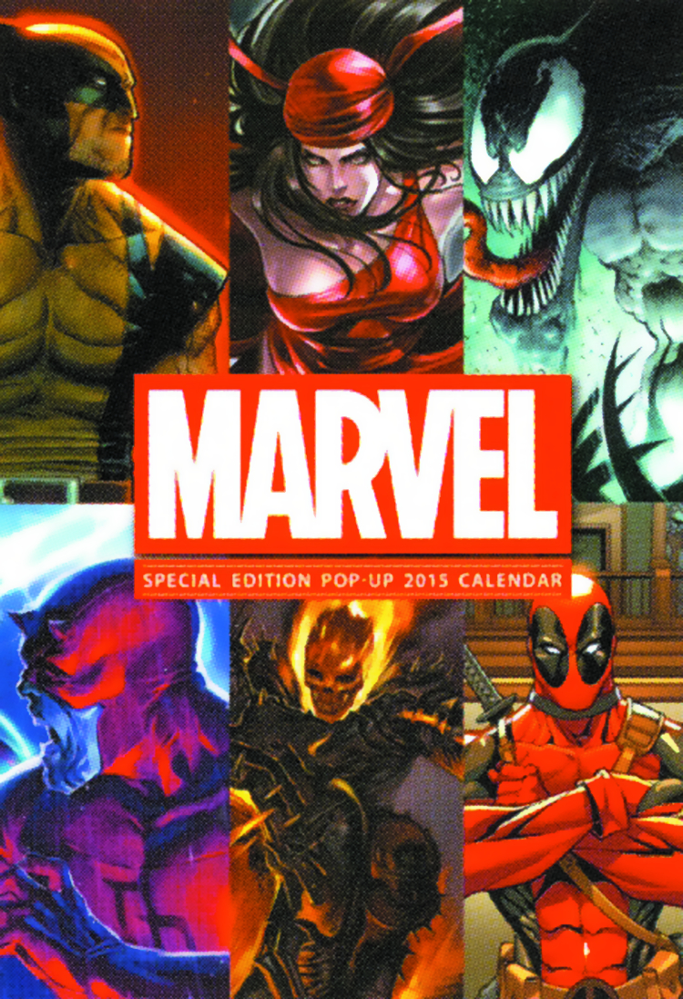 MARVEL COMICS SPEC ED 2015 WALL CAL