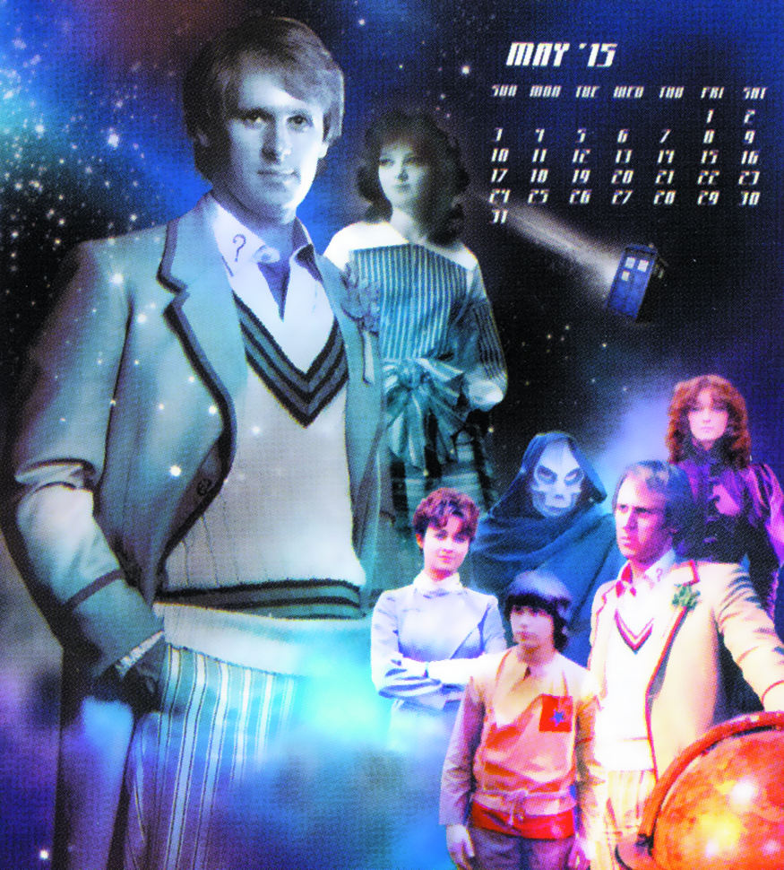 DOCTOR WHO SPECIAL ED 2015 WALL CALENDAR