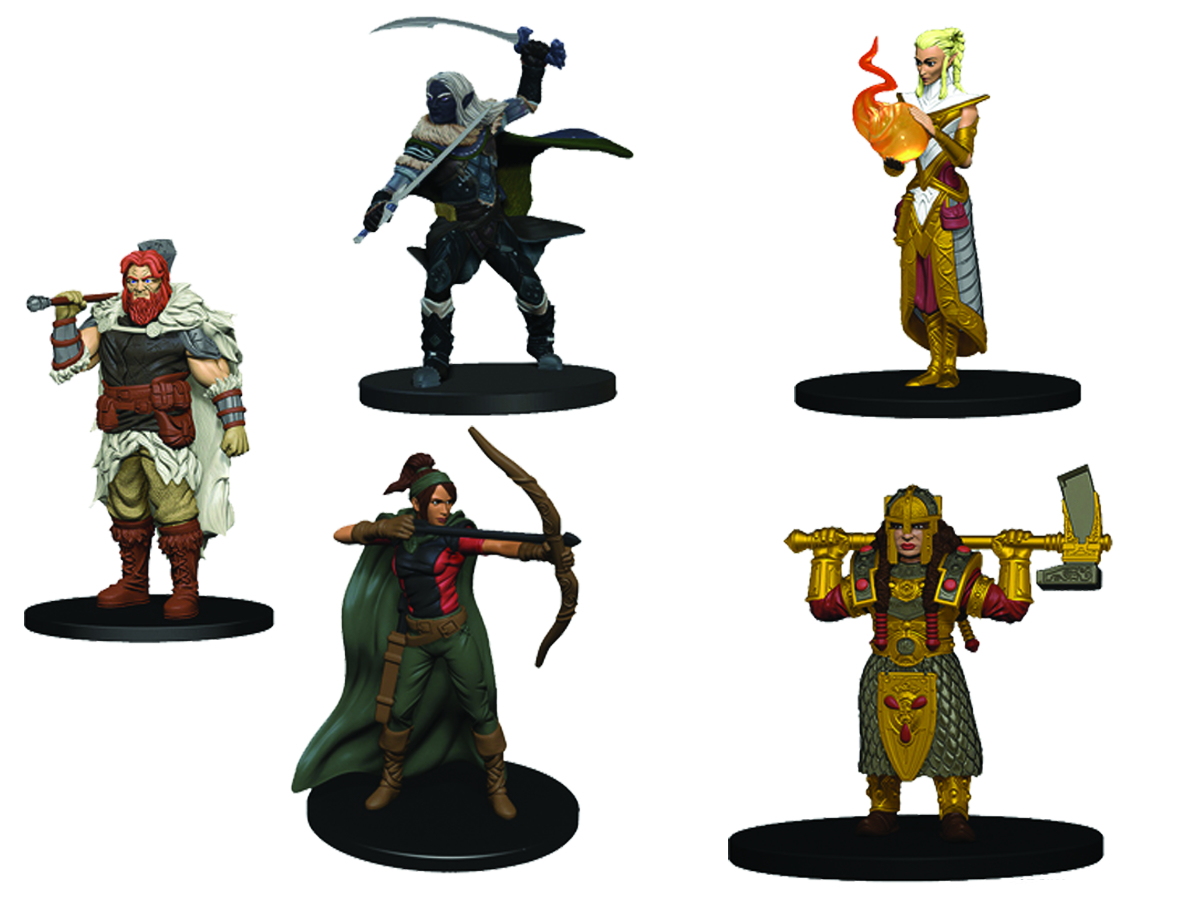DUNGEONS & DRAGONS MINIATURES SET ONE 8CT BOOSTER BRICK