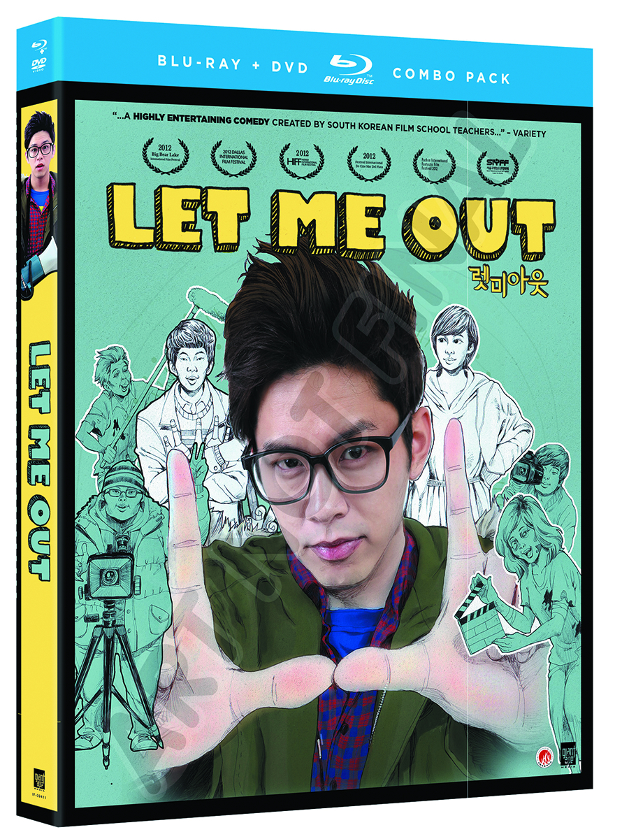 LET ME OUT BD + DVD