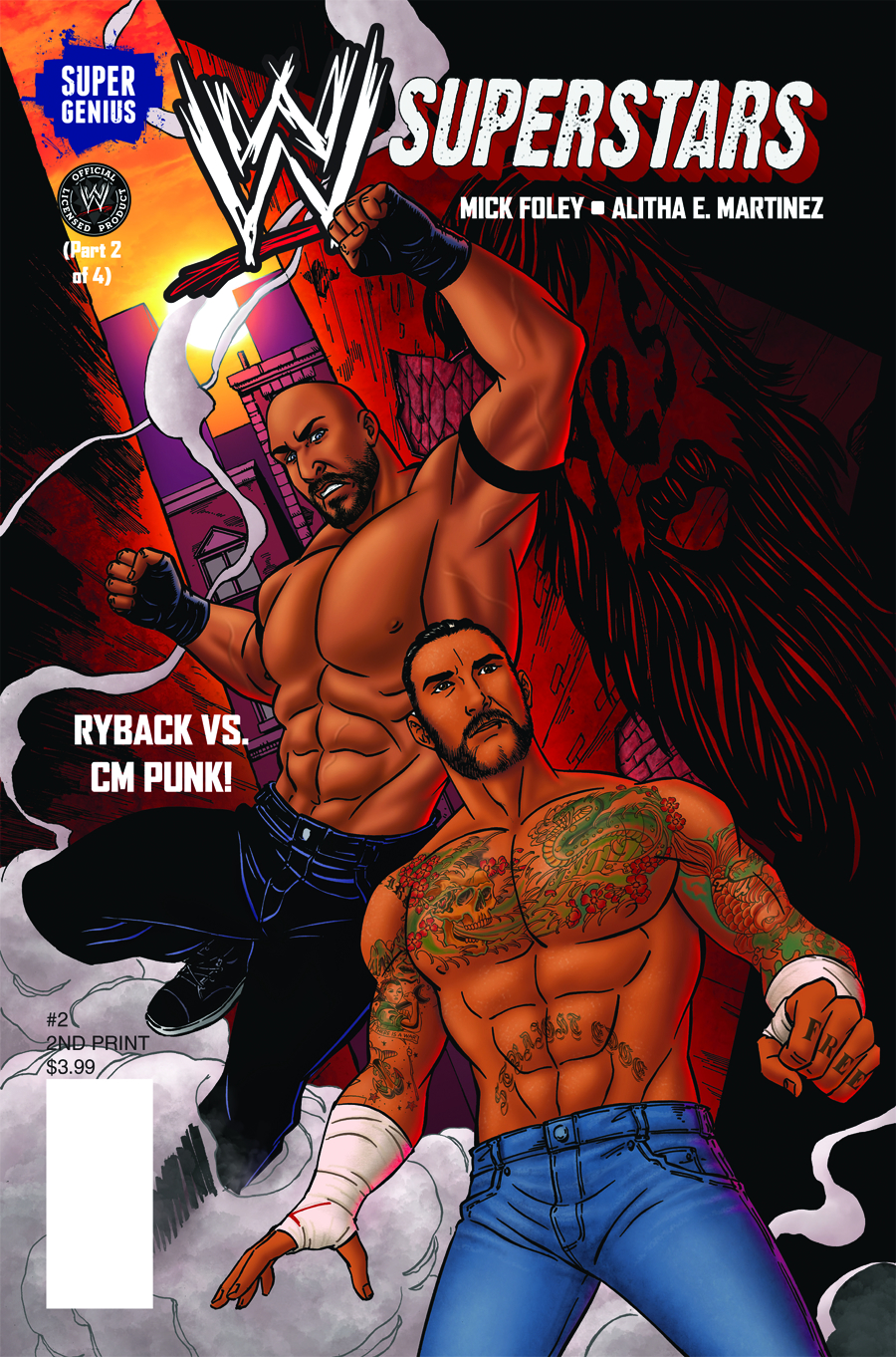 WWE SUPERSTARS ONGOING #2 2ND PTG