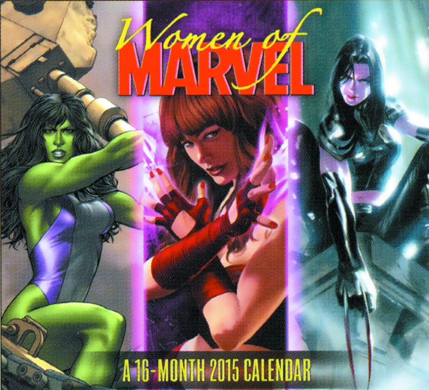 WOMEN OF MARVEL 2015 16 MONTH WALL CAL