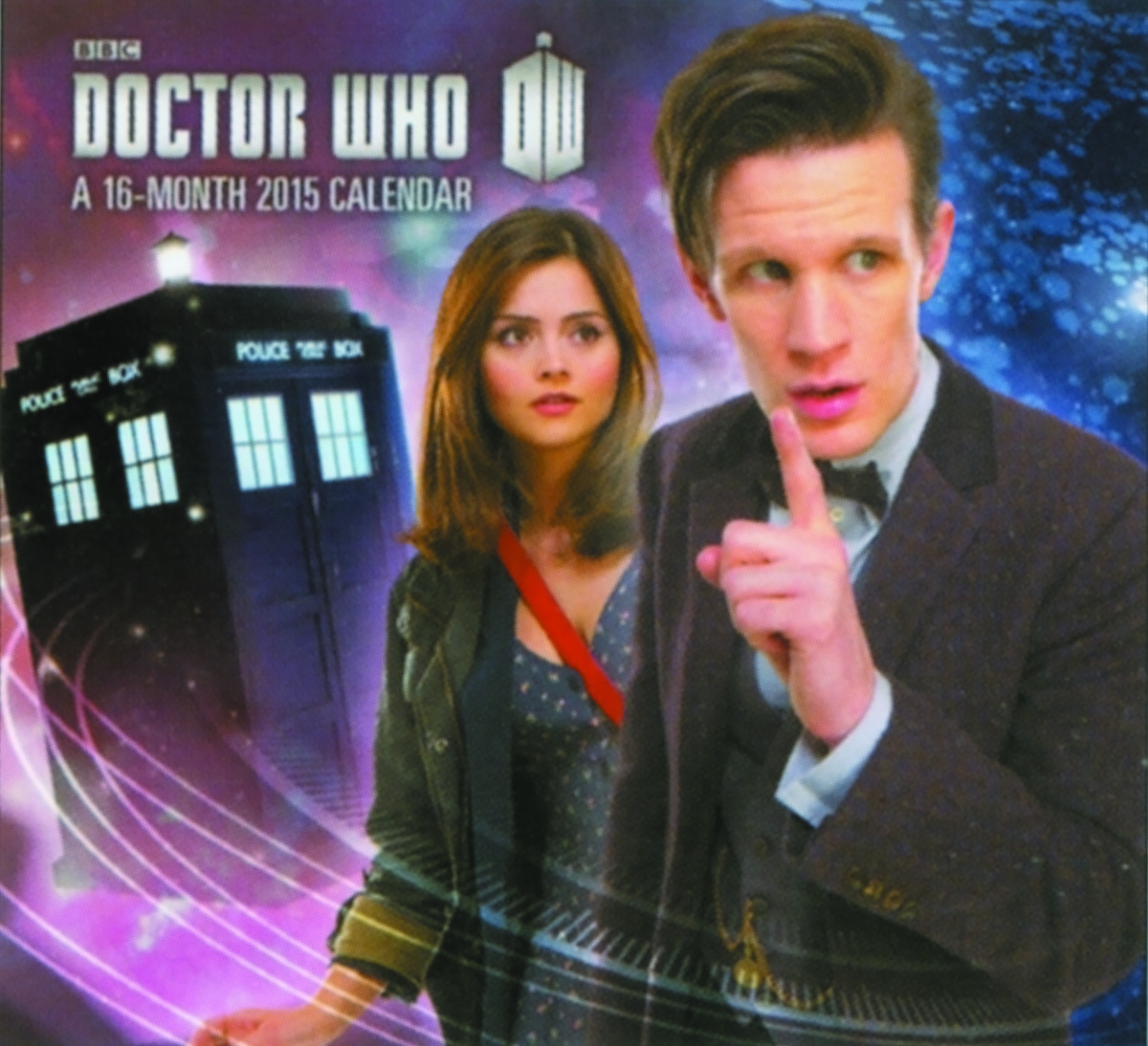 DOCTOR WHO 2015 16 MONTH MINI WALL CAL