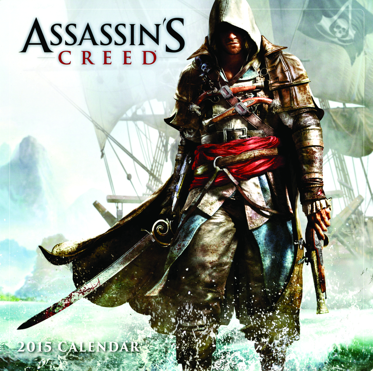 ASSASSINS CREED 2015 16 MONTH WALL CALENDAR