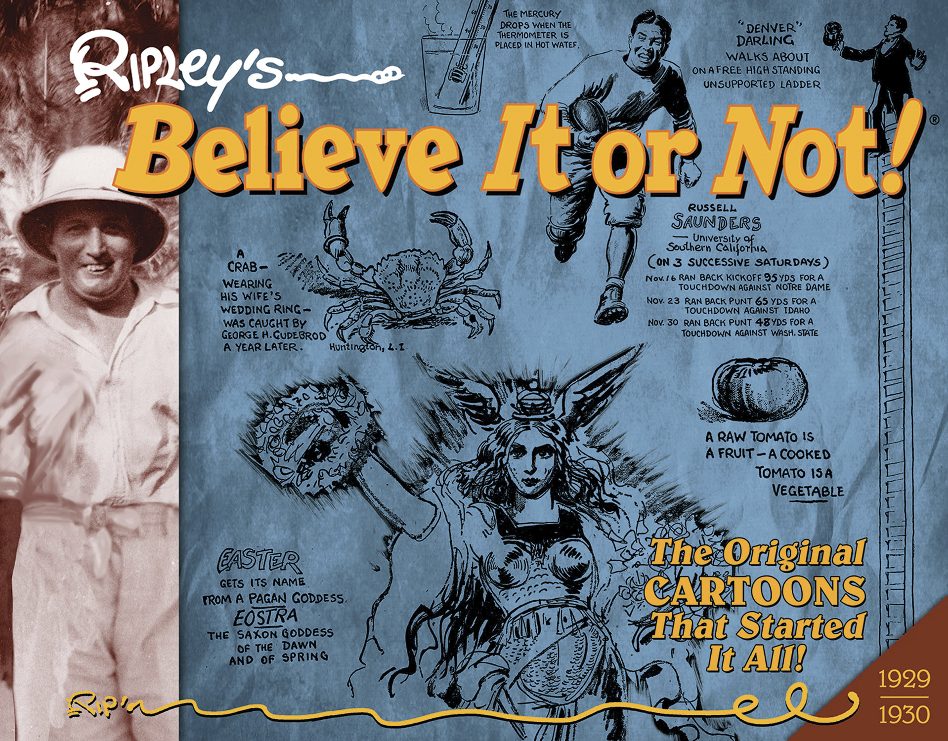 RIPLEYS BELIEVE IT OR NOT ORIG CARTOONS HC VOL 01