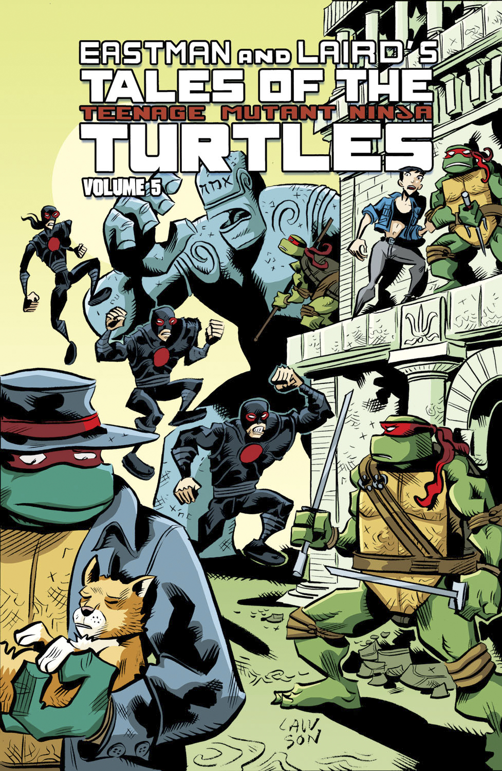 TALES OF TMNT TP VOL 05