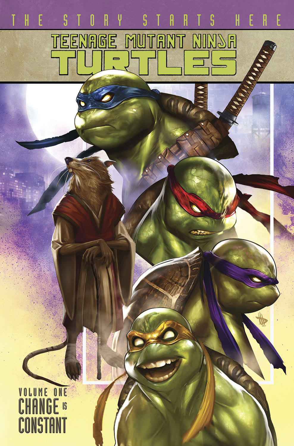 TMNT ONGOING TP VOL 01 CHANGE IS CONSTANT NEW PTG