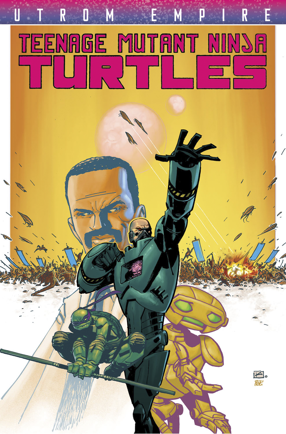 TMNT UTROM EMPIRE TP