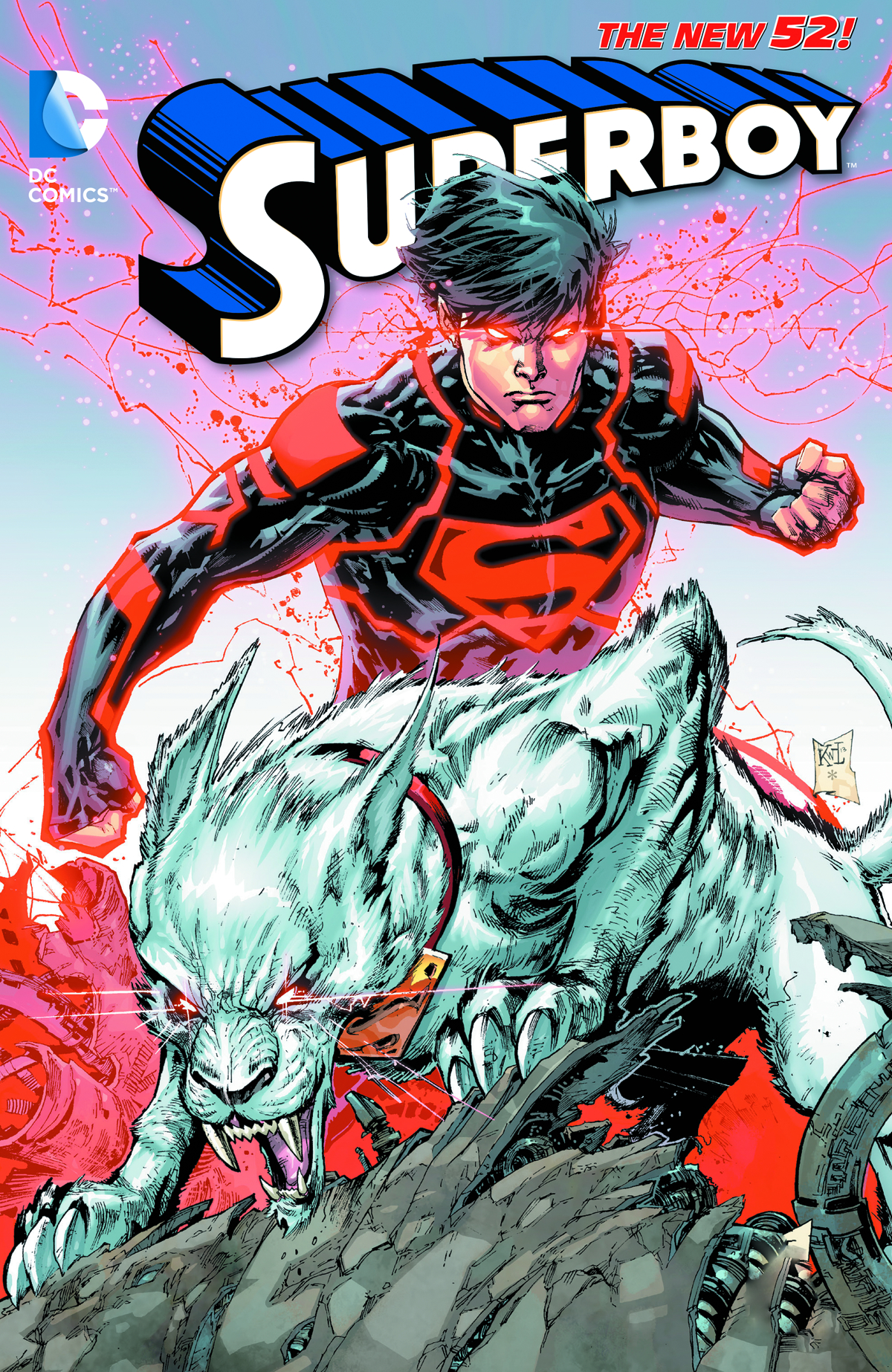 SUPERBOY TP VOL 04 BLOOD AND STEEL