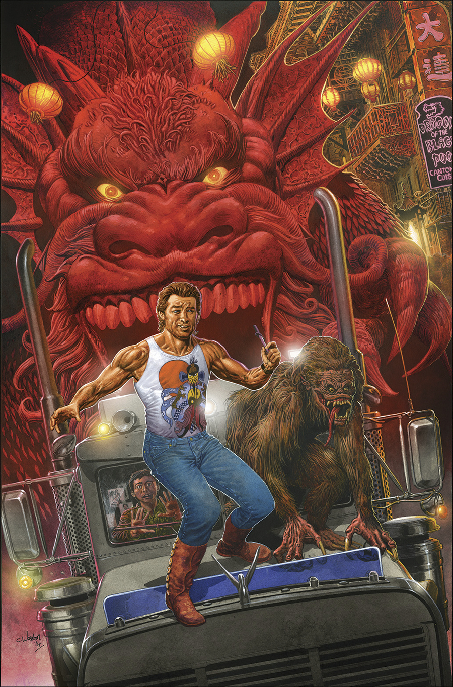 BIG TROUBLE IN LITTLE CHINA #1 25 COPY INCV WESTON VAR