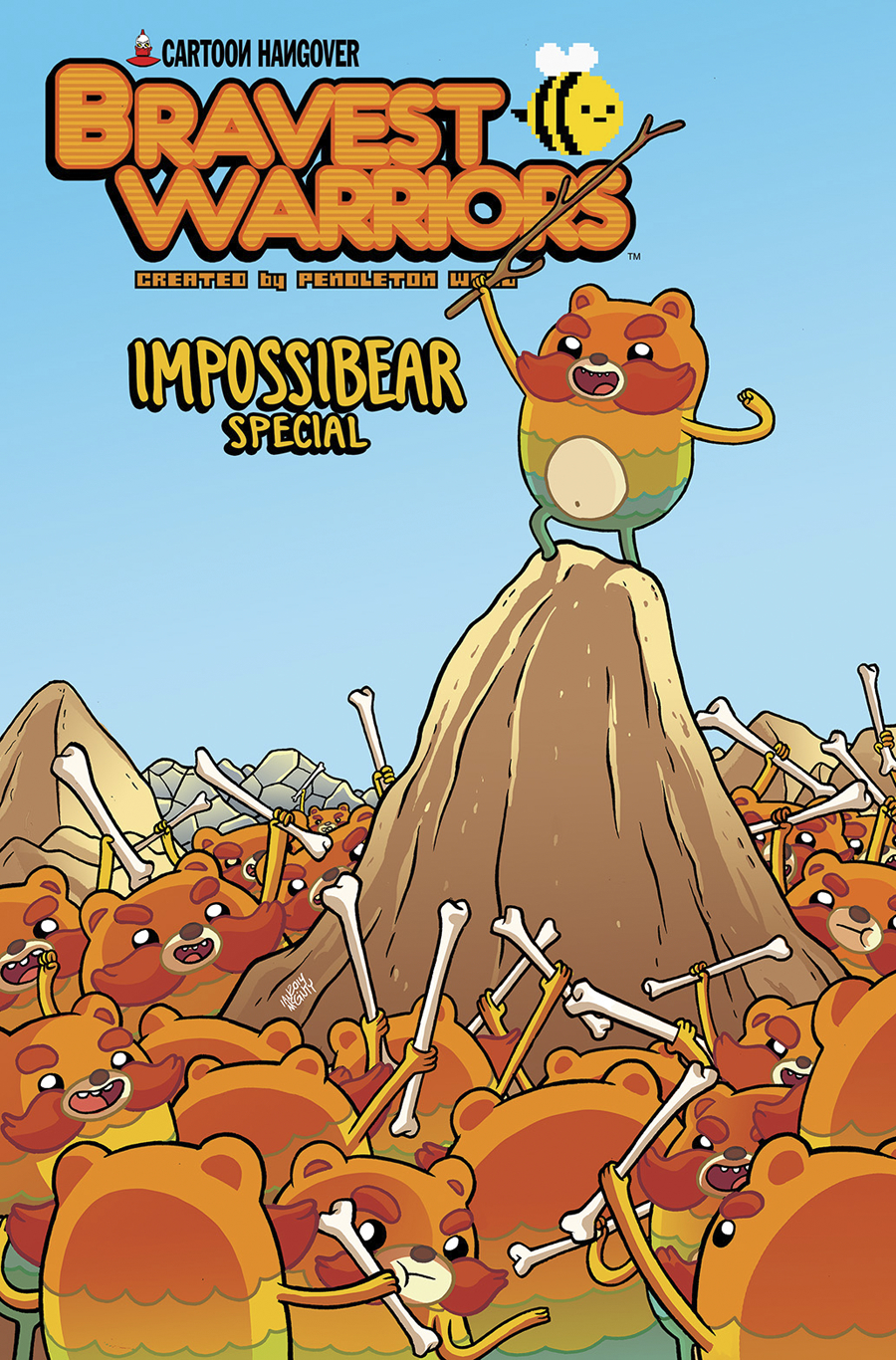 BRAVEST WARRIORS 2014 IMPOSSIBEAR SPECIAL #1