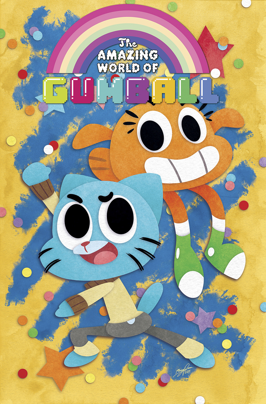 AMAZING WORLD OF GUMBALL #1 MAIN CVRS