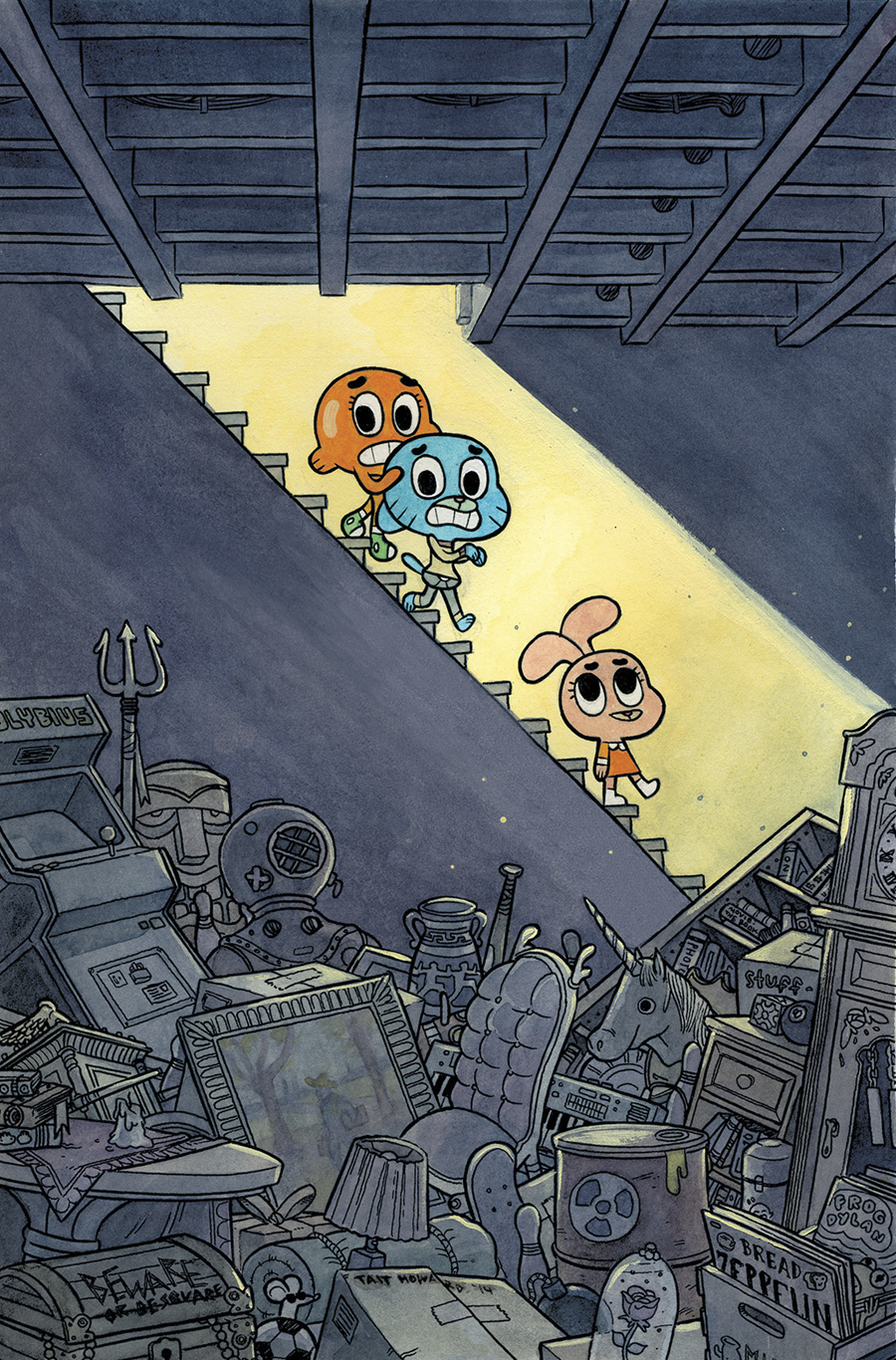 AMAZING WORLD OF GUMBALL #1 15 COPY INCV HOWARD VAR