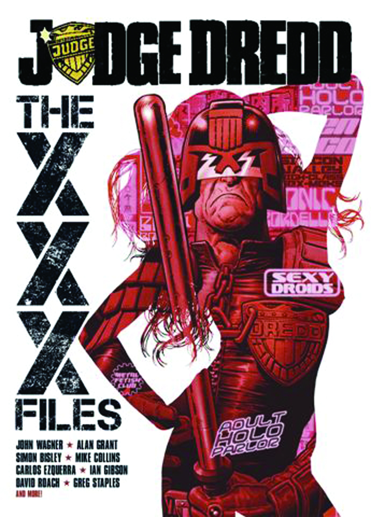 US JUDGE DREDD XXX FILES TP