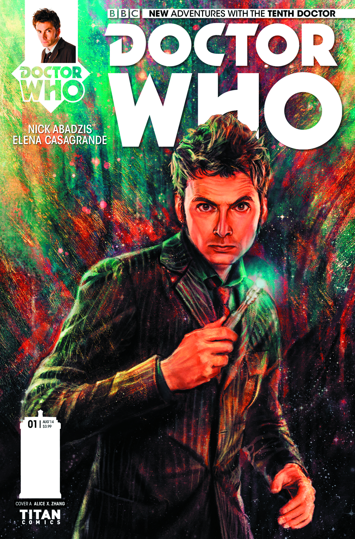 DOCTOR WHO 10TH #1 REG ZHANG