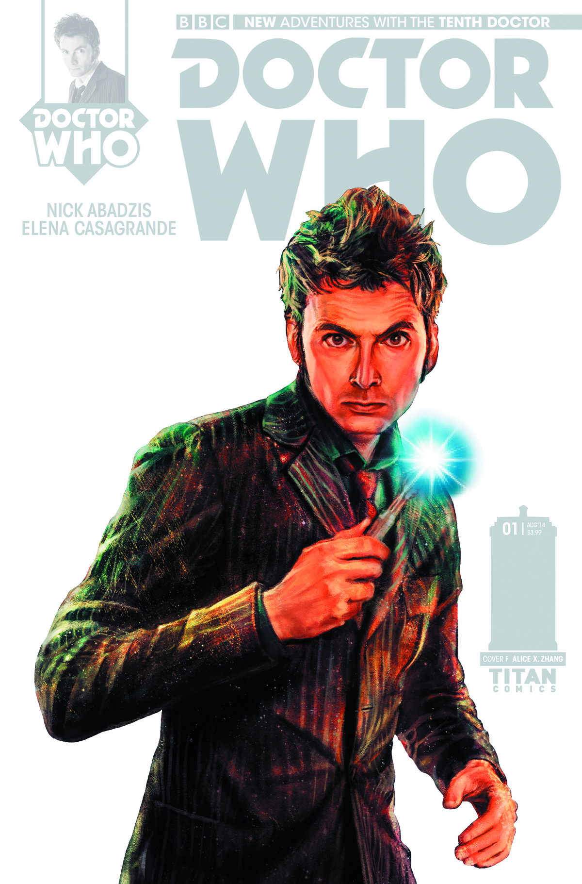 DOCTOR WHO 10TH #1 100 COPY INCV ZHANG STARK