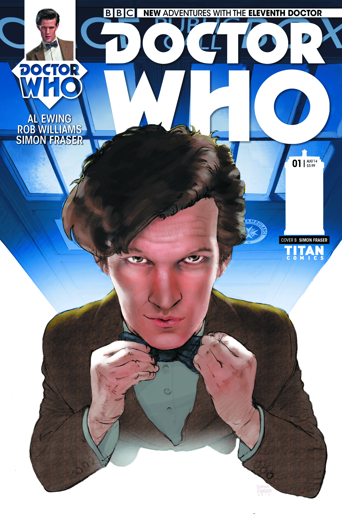 DOCTOR WHO 11TH #1 SUBSCRIPTION FRASER