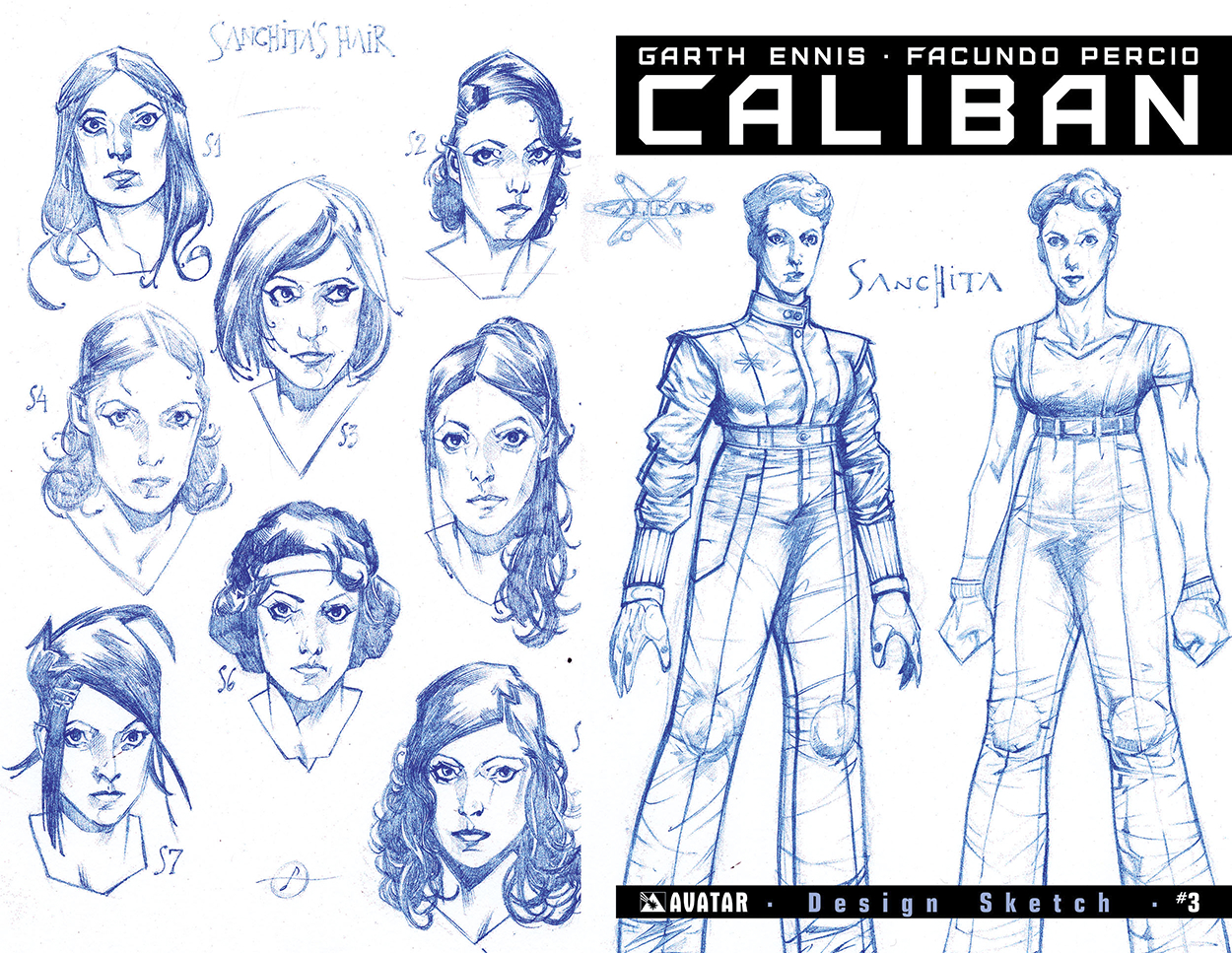 CALIBAN #3 DESIGN SKETCH ORDER INCV