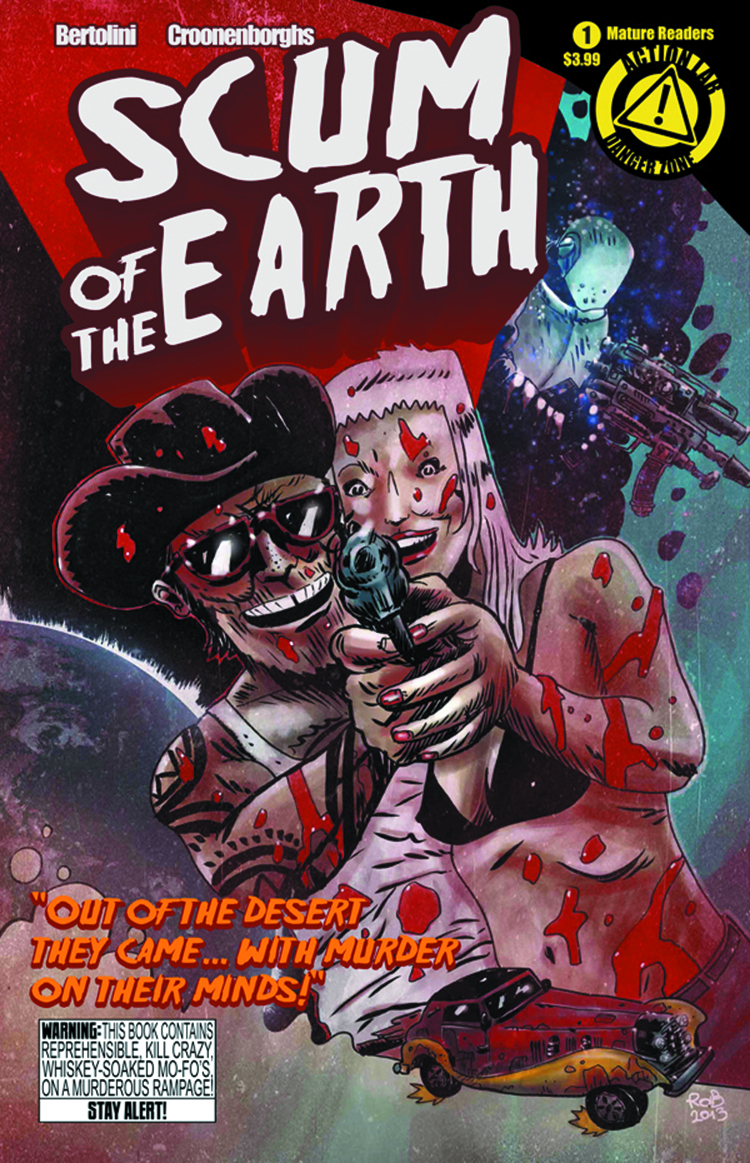 SCUM O/T EARTH #1 MAIN CVR