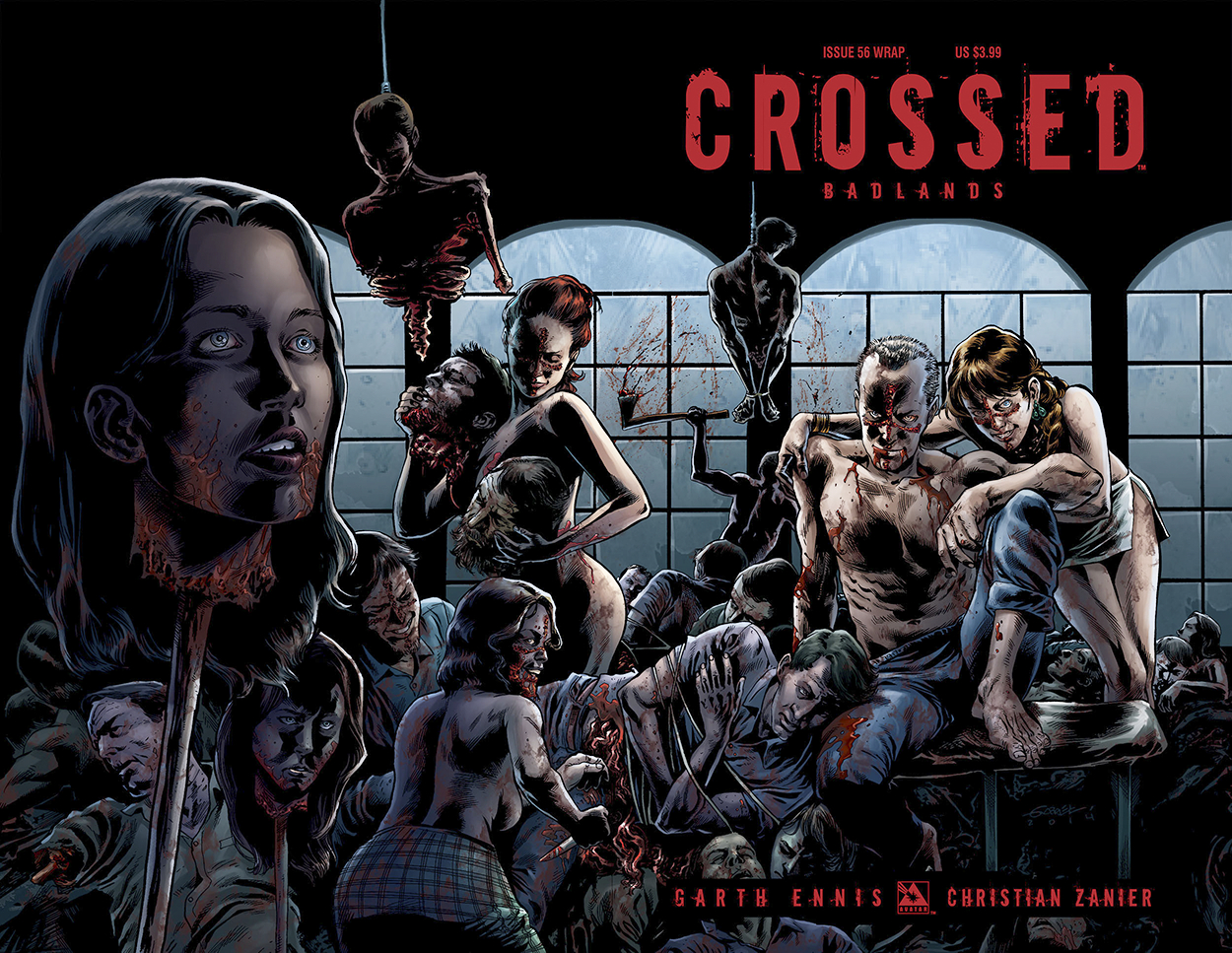 CROSSED BADLANDS #56 WRAP CVR