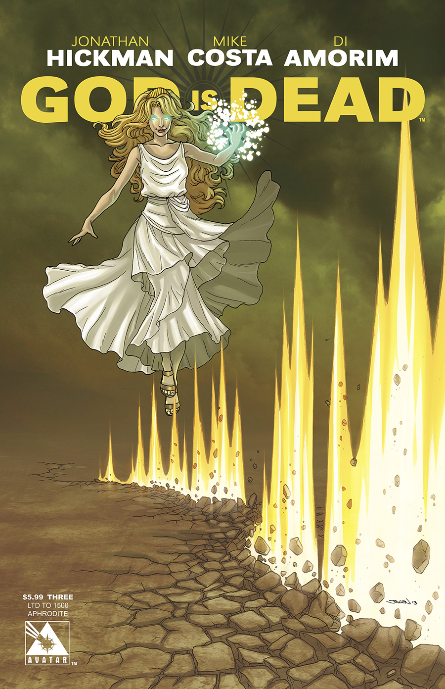 GOD IS DEAD #3 APHRODITE CVR