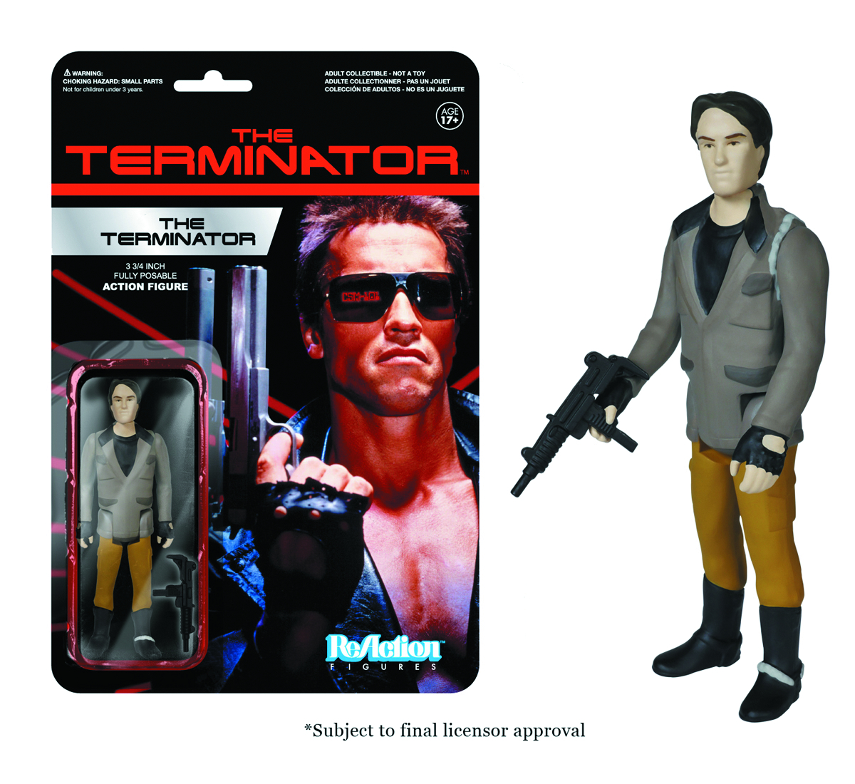 REACTION TERMINATOR TERMINATOR ONE FIG
