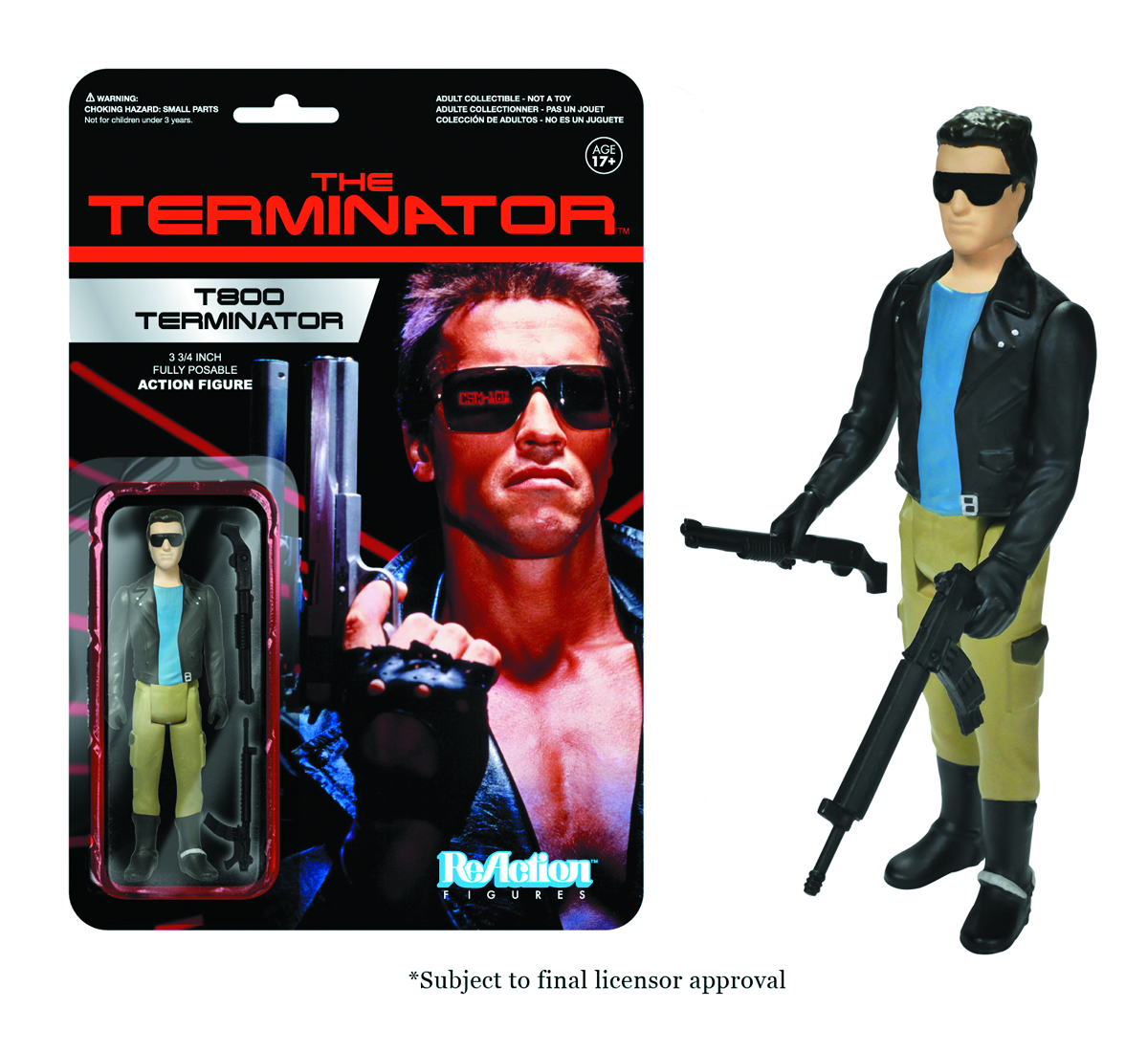 REACTION TERMINATOR T-800 FIG
