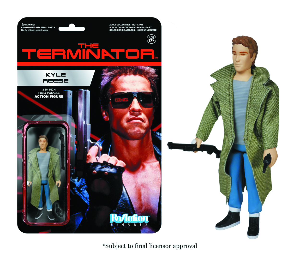 REACTION TERMINATOR KYLE REESE FIG