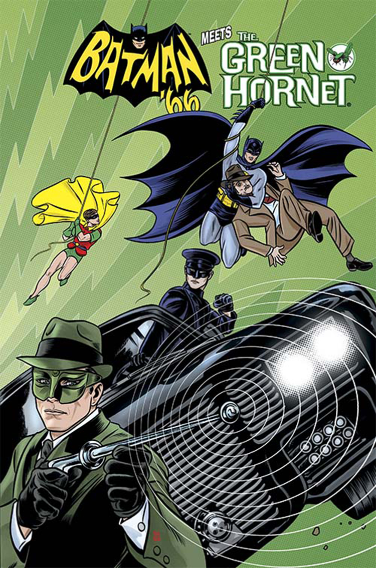 BATMAN 66 MEETS GREEN HORNET #1
