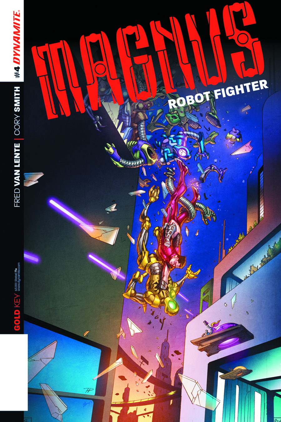 MAGNUS ROBOT FIGHTER #4 HESTER EXC SUBSCRIPTION VAR