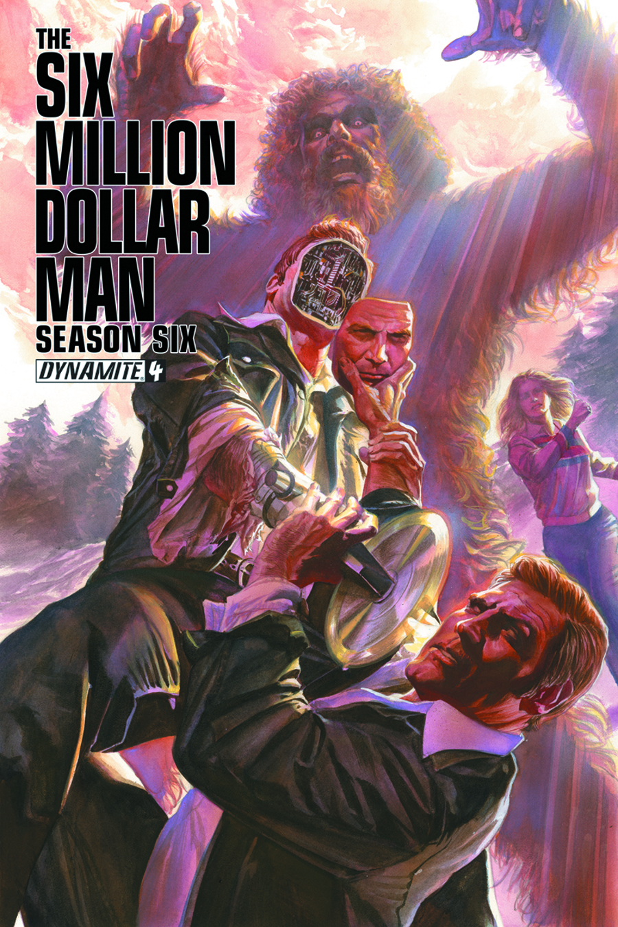 SIX MILLION DOLLAR MAN SEASON 6 #4 100 COPY GOLD SGN INCV