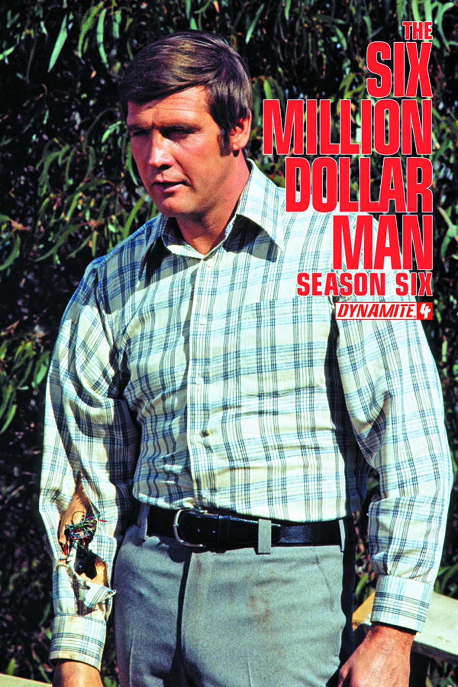 SIX MILLION DOLLAR MAN SEASON 6 #4 EXC SUBSCRIPTION CVR