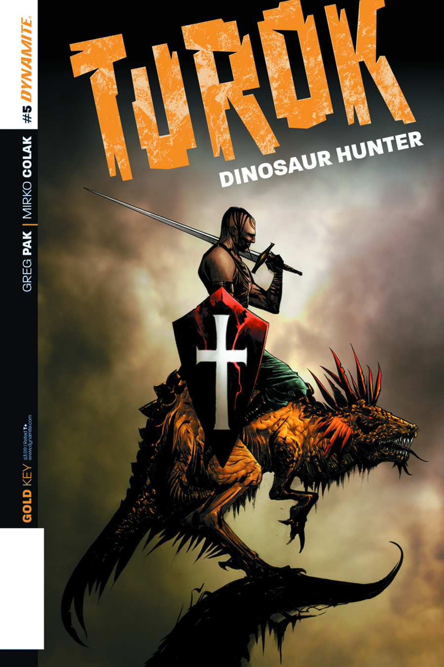 TUROK DINOSAUR HUNTER #5 LEE EXC SUBSCRIPTION VAR