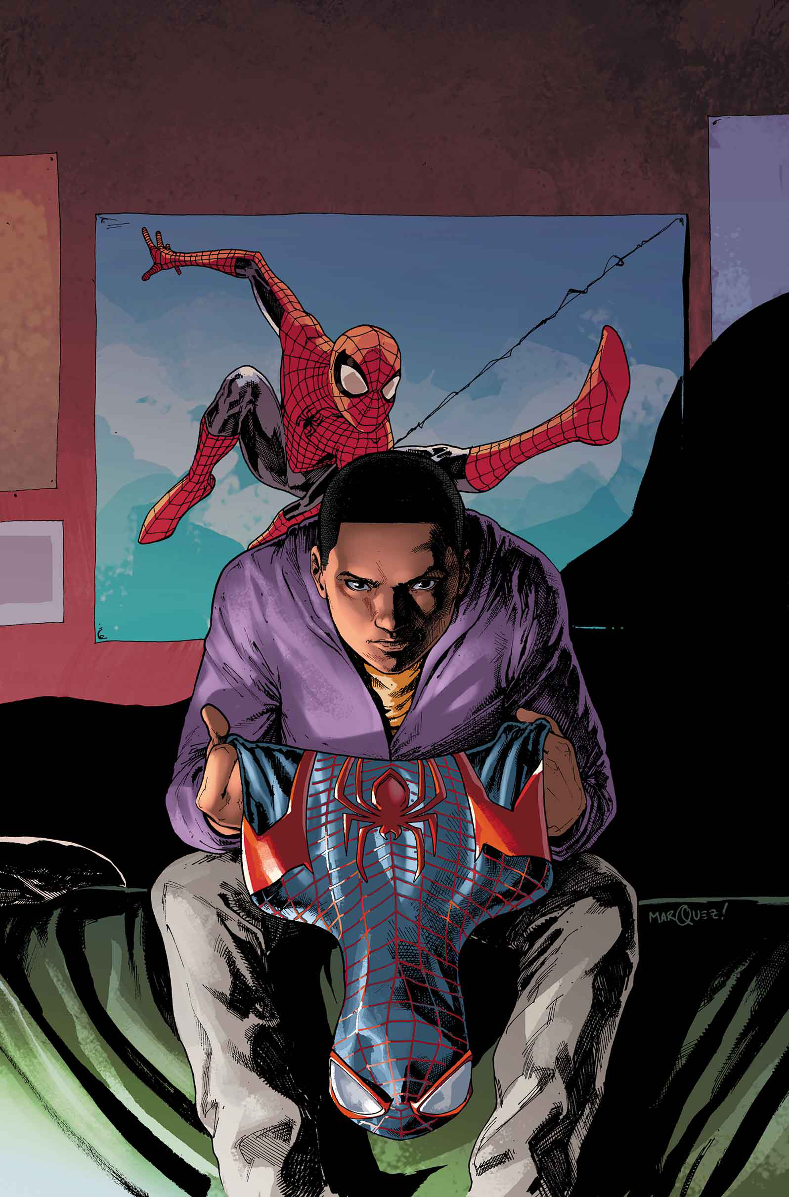 MILES MORALES ULTIMATE SPIDER-MAN #2