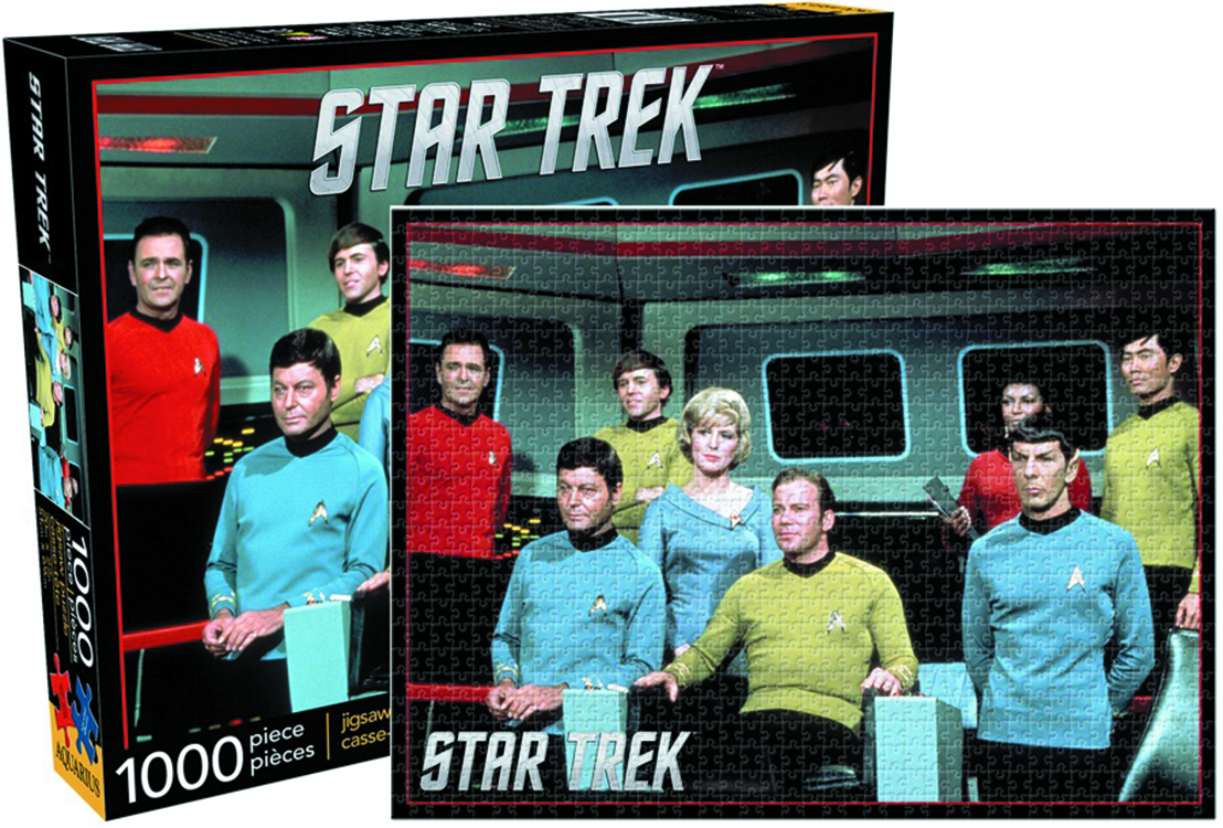 STAR TREK CREW 1000 PIECE JIGSAW PUZZLE